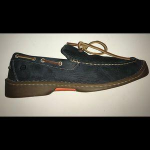 Born blue loafer 10